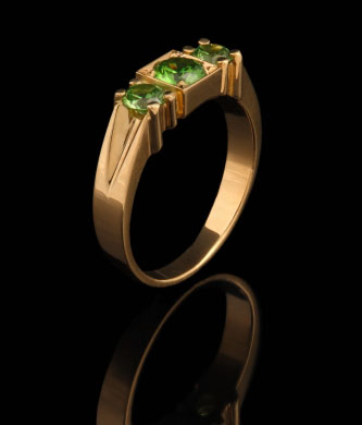 Кольцо из золота 750* пробы