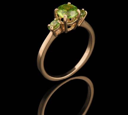 Кольцо из золота 585* пробы