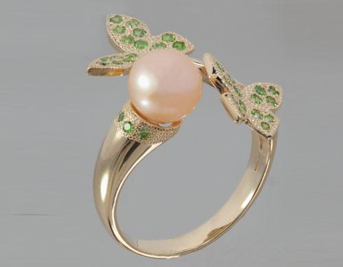 Кольцо из золота 585*