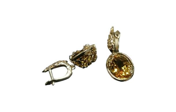 Серьги из золота 585*