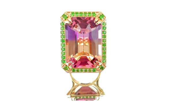 Кольцо из гарнитура: золото 585*